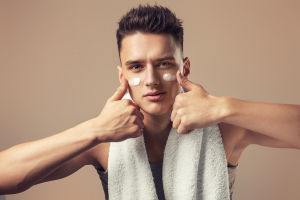 spa and facial treatment for men